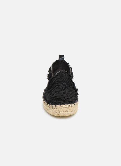 Espadrilles Colors of California Lara 3 Noir vue portées chaussures