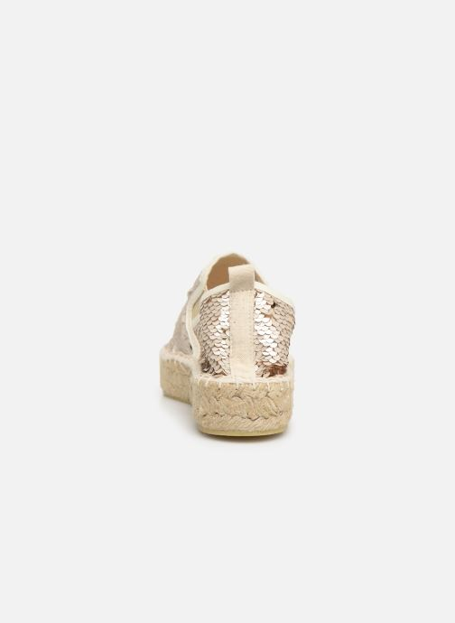 Espadrilles Colors of California Lara 3 Beige vue droite