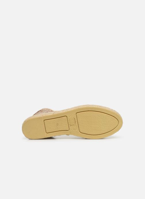 Espadrilles Colors of California Lara 3 Beige vue haut