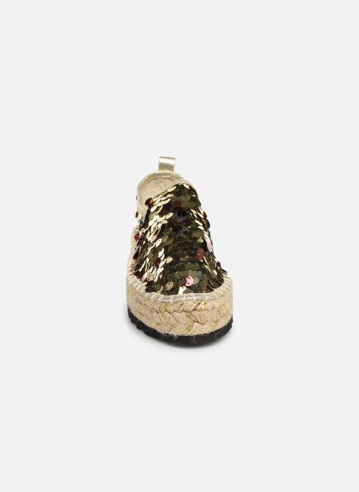 Espadrilles Colors of California Lara 3 Or et bronze vue portées chaussures