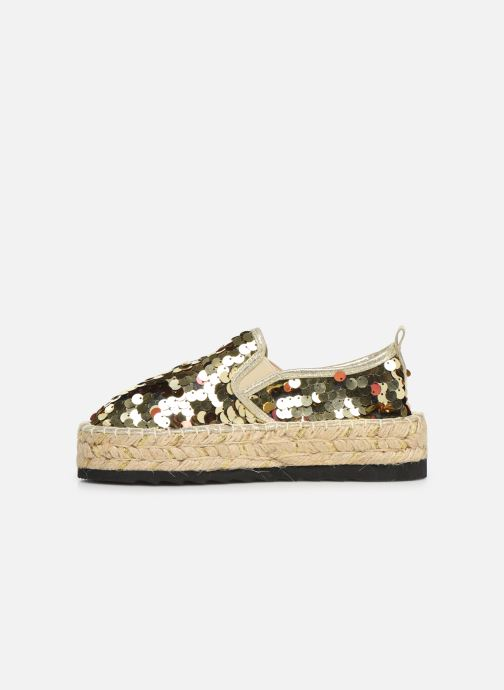 Espadrilles Colors of California Lara 3 Goud en brons voorkant