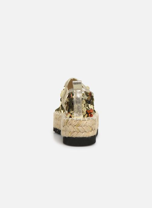 Espadrilles Colors of California Lara 3 Goud en brons rechts