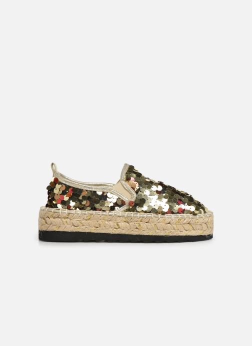 Espadrilles Colors of California Lara 3 Goud en brons achterkant