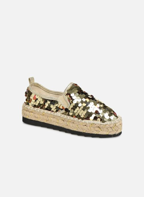 Espadrilles Colors of California Lara 3 Goud en brons detail