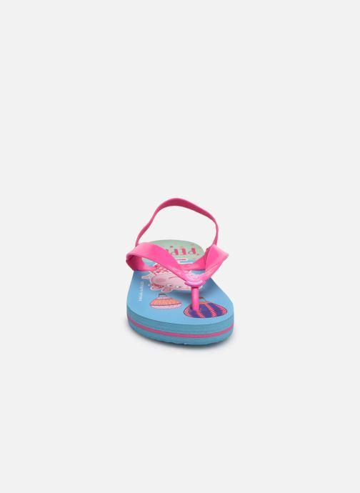 Tongs Peppa Pig FATRA ELAS Rose vue portées chaussures
