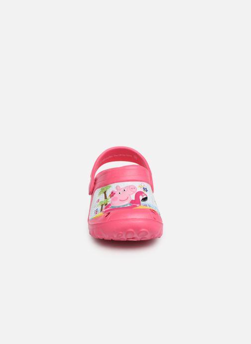 Sandales et nu-pieds Peppa Pig FANELY Rose vue portées chaussures