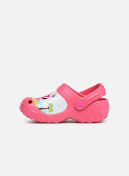 Sandalen Peppa Pig FANELY rosa ansicht von vorne