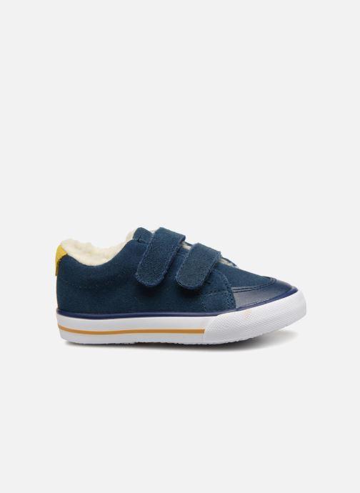 Sneaker Bout'Chou TENNIS BASSE FOURREE BEBE blau ansicht von hinten