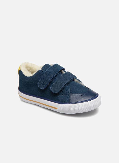 Sneaker Bout'Chou TENNIS BASSE FOURREE BEBE blau detaillierte ansicht/modell