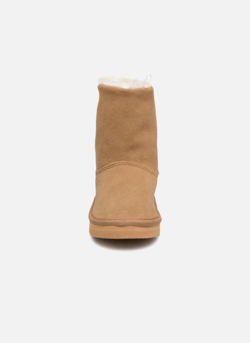 Bottes Bout'Chou BOTTE NEIGE BEBE Beige vue portées chaussures