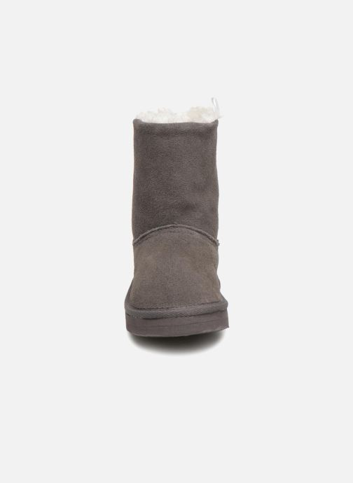 Boots & wellies Bout'Chou BOTTE NEIGE BEBE Grey model view