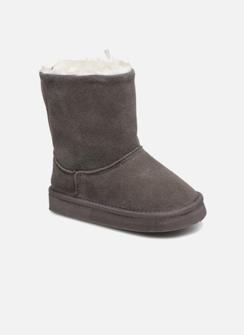 Boots & wellies Bout'Chou BOTTE NEIGE BEBE Grey detailed view/ Pair view