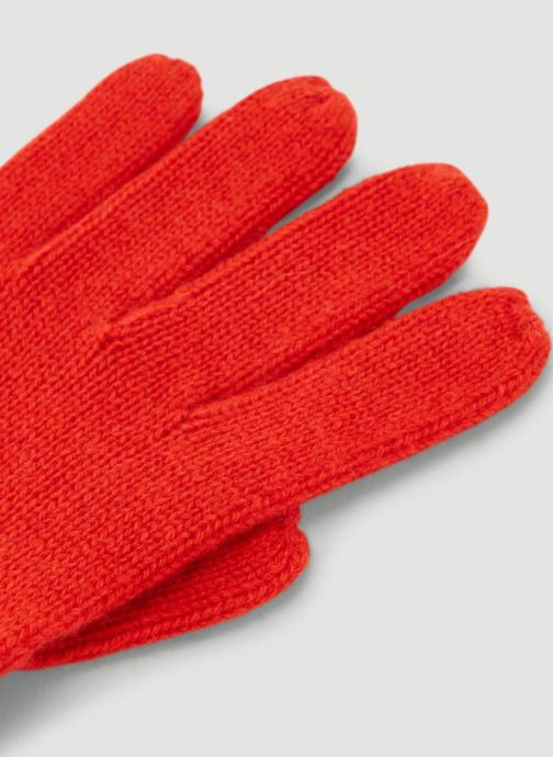Handschoenen Monoprix Femme GANTS CACHEMIRE UNI Rood model