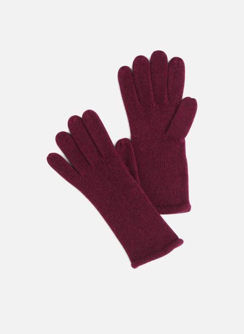 Handschuhe Monoprix Femme GANTS ACRYLIQUE UNI weinrot detaillierte ansicht/modell