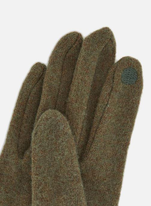 Handschoenen Monoprix Femme GANTS ZIP LAINE Groen model