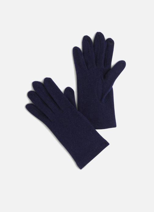 Handschoenen Monoprix Femme GANTS LAINE TACTIL Blauw detail