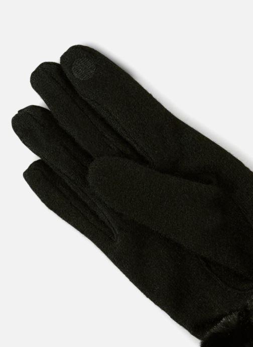 Gants Monoprix Femme GANTS COUPE COUSU TACTILE Noir vue portées chaussures