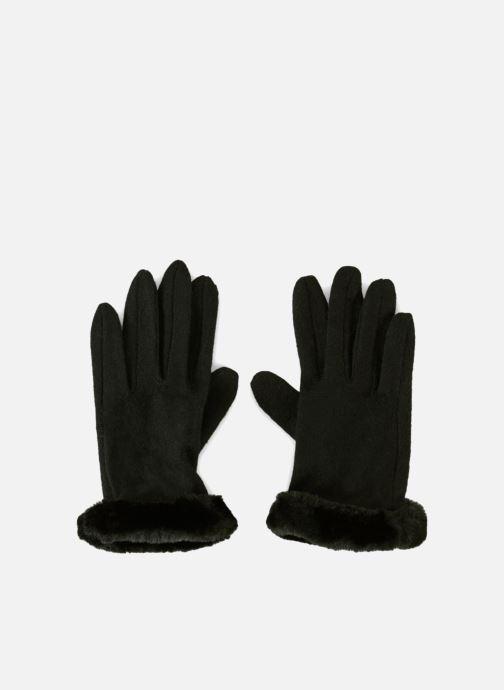 Handschuhe Monoprix Femme GANTS COUPE COUSU TACTILE schwarz detaillierte ansicht/modell