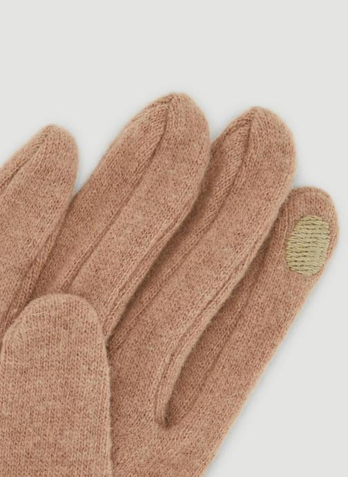 Handschuhe Monoprix Femme GANTS UNI STRASS beige schuhe getragen