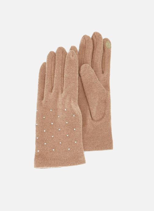 Handschuhe Monoprix Femme GANTS UNI STRASS beige detaillierte ansicht/modell