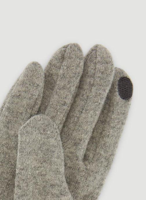 Handschuhe Monoprix Femme GANTS UNI STRASS grau schuhe getragen