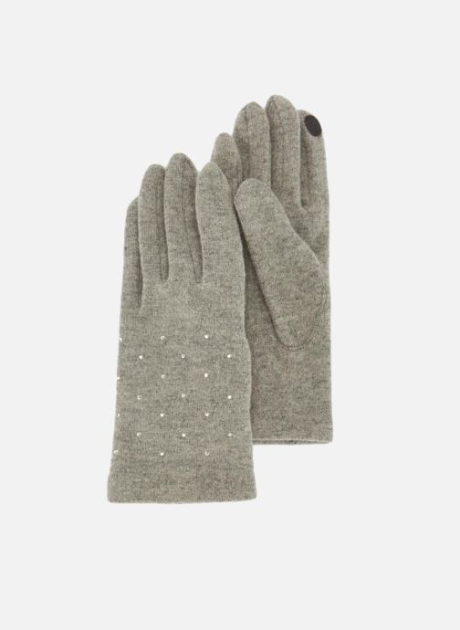 Handschuhe Monoprix Femme GANTS UNI STRASS grau detaillierte ansicht/modell