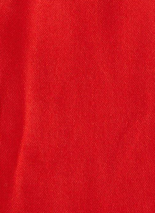 Sjaal Monoprix Femme ECHARPE ACRYLIQUE UNIE Rood voorkant