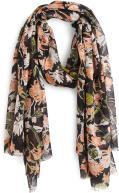 Sciarpa y foulard Accessori FOULARD IMPRIME FLEURS MARINE
