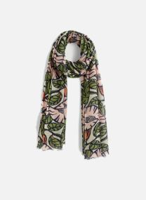 Sciarpa y foulard Accessori FOULARD LAINE IMPRIME FLEURS ROSE