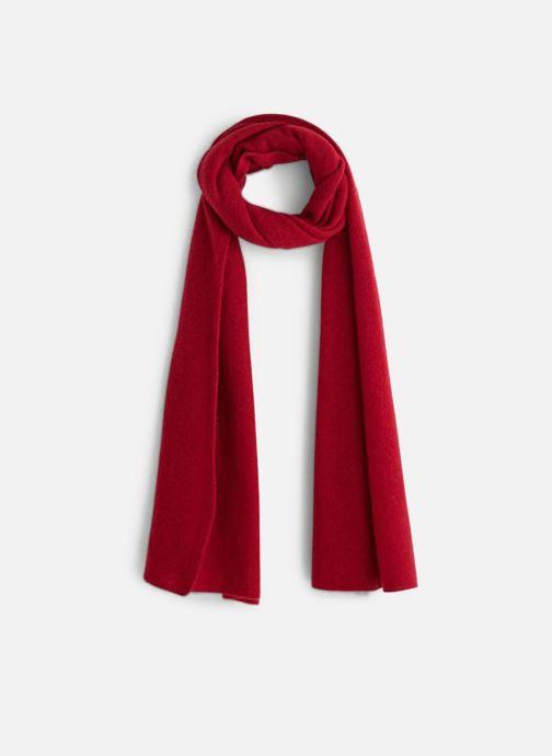043c3e8357a80 Echarpes et Foulards Monoprix Femme ETOLE CACHEMIRE UNIE Rouge vue  détail/paire