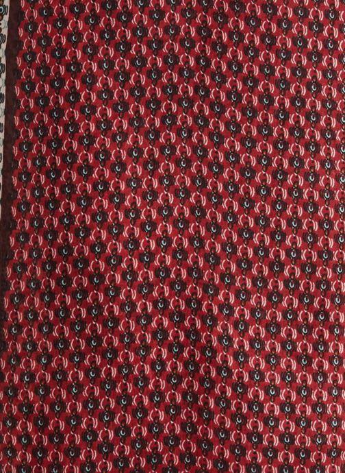 Sciarpa y foulard Monoprix Femme ETOLE GRAIN DE CAFÉ Rosso immagine frontale