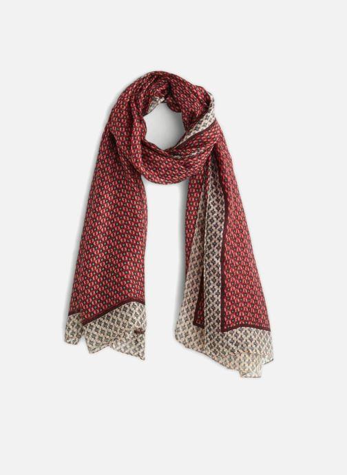 Sciarpa y foulard Monoprix Femme ETOLE GRAIN DE CAFÉ Rosso vedi dettaglio/paio