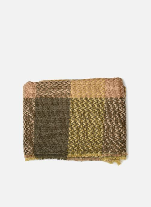 Sjaal Monoprix Femme ETOLE ACRYLIQUE CARREAUX Groen model
