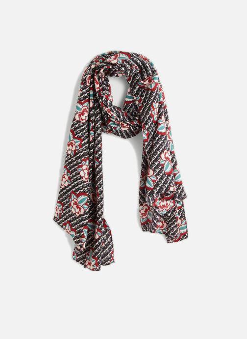 Sciarpa y foulard Monoprix Femme ETOLE POIS ET FLEURS Multicolore vedi dettaglio/paio