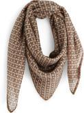 Sciarpa y foulard Accessori ETOLE CARRE LAINE GRAIN