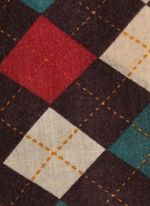 Sjaal Monoprix Femme ETOLE LAINE LOSANGES Multicolor voorkant