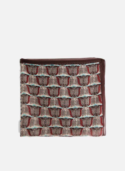 Sciarpa y foulard Monoprix Femme FOULARD PATCHWORK Multicolore modello indossato