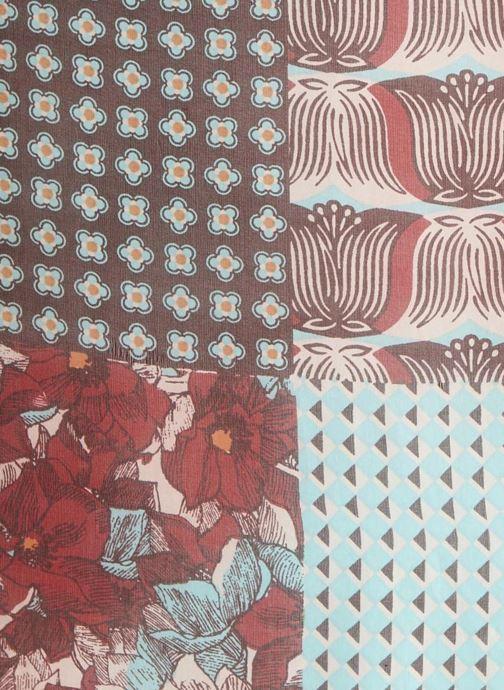 Echarpes et Foulards Monoprix Femme FOULARD PATCHWORK Multicolore vue face