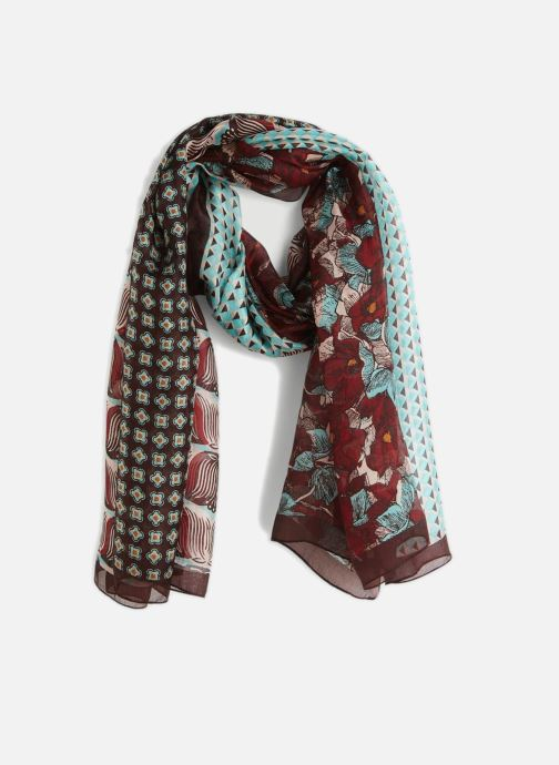 Sciarpa y foulard Monoprix Femme FOULARD PATCHWORK Multicolore vedi dettaglio/paio