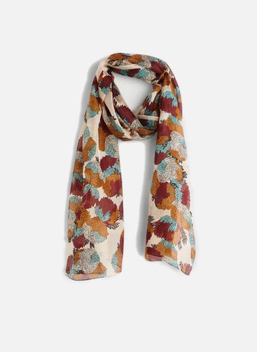 Sciarpa y foulard Monoprix Femme FOULARD CHRYSANTHEMES Multicolore vedi dettaglio/paio