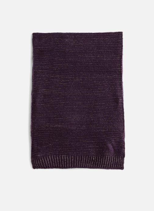 Schal Monoprix Femme ETOLE TRICOT lila schuhe getragen