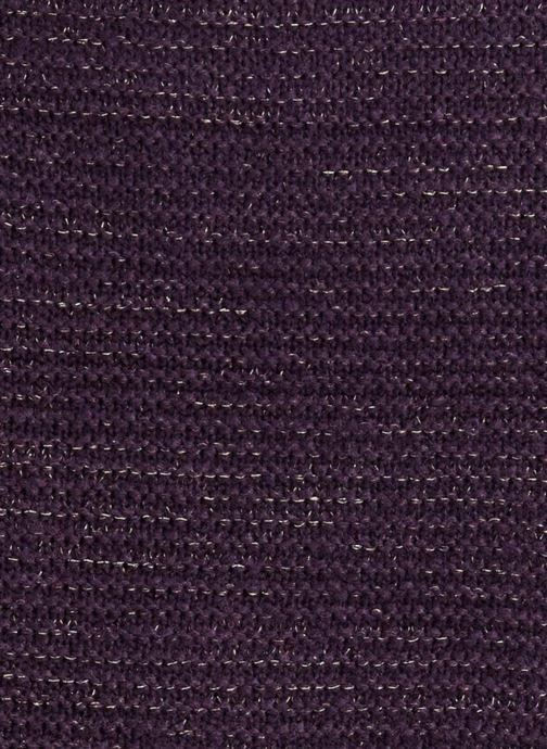Schal Monoprix Femme ETOLE TRICOT lila ansicht von vorne