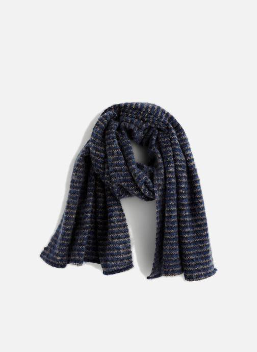 Sciarpa y foulard Monoprix Femme FOULARD ACRYLIQUE RAYURES Verde vedi dettaglio/paio