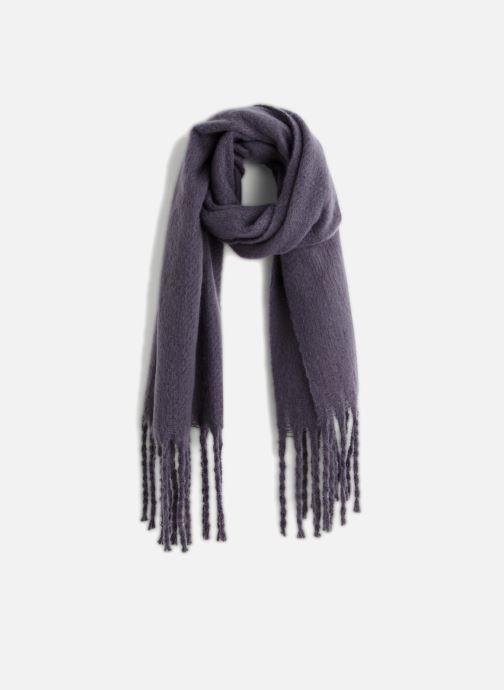 Sjaal Monoprix Femme ECHARPE ACRYLIQUE BOURRETTE Grijs detail