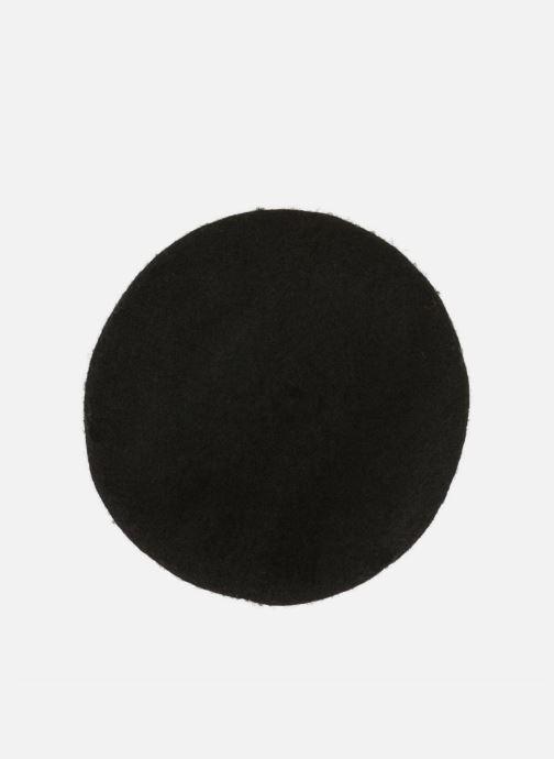 Cappello Monoprix Femme Béret uni en laine Nero modello indossato