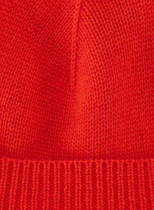 Bonnets Monoprix Femme BONNET CACHEMIRE Rouge vue portées chaussures