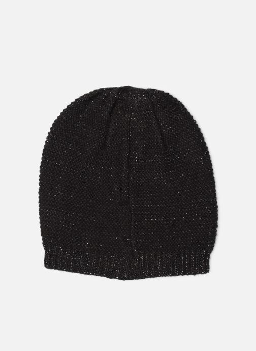 Bonnets Monoprix Femme BONNET TRICO UNI Noir vue détail/paire