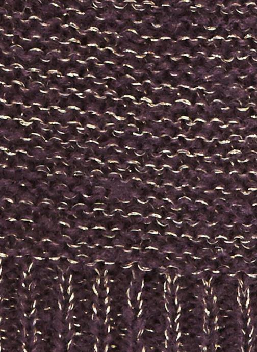 Bonnets Monoprix Femme BONNET TRICO UNI Violet vue portées chaussures