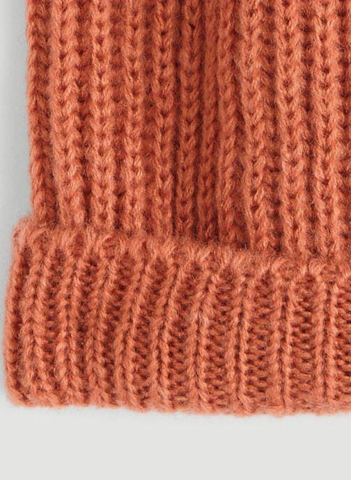Bonnets Monoprix Femme BONNET TRICOT FIN UNI Rose vue portées chaussures