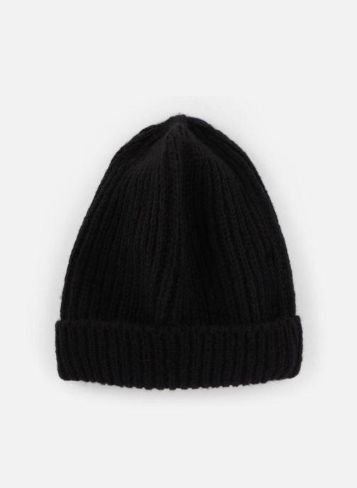 Bonnets Monoprix Femme BONNET TRICOT FIN UNI Noir vue détail/paire